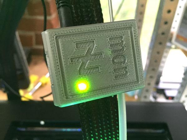 Z-Mon: monitor del filamento per stampanti Zortrax